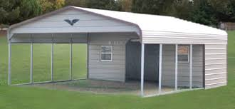 Carport - Standard with Storage - #6