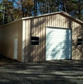 A-Frame - All Vertical Garage - #14