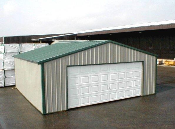Garage - A-Frame - All Vertical - #4
